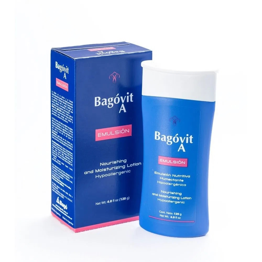 BAGOVIT  EMULSION NUTRITIVA HUMECTANTE CORPORALX120gr