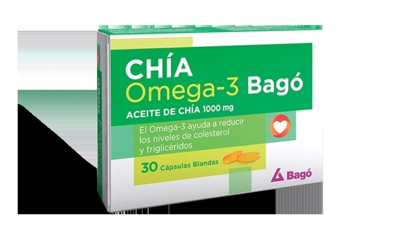 BAGO OMEGA 3 100MG X60