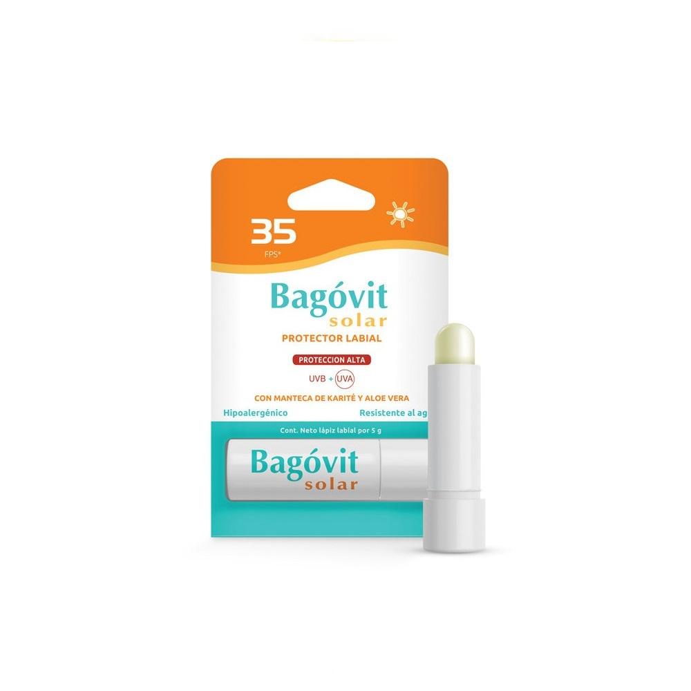 BAGOVIT  SOLAR LAPIS LABIAL  FPS 35 X 1
