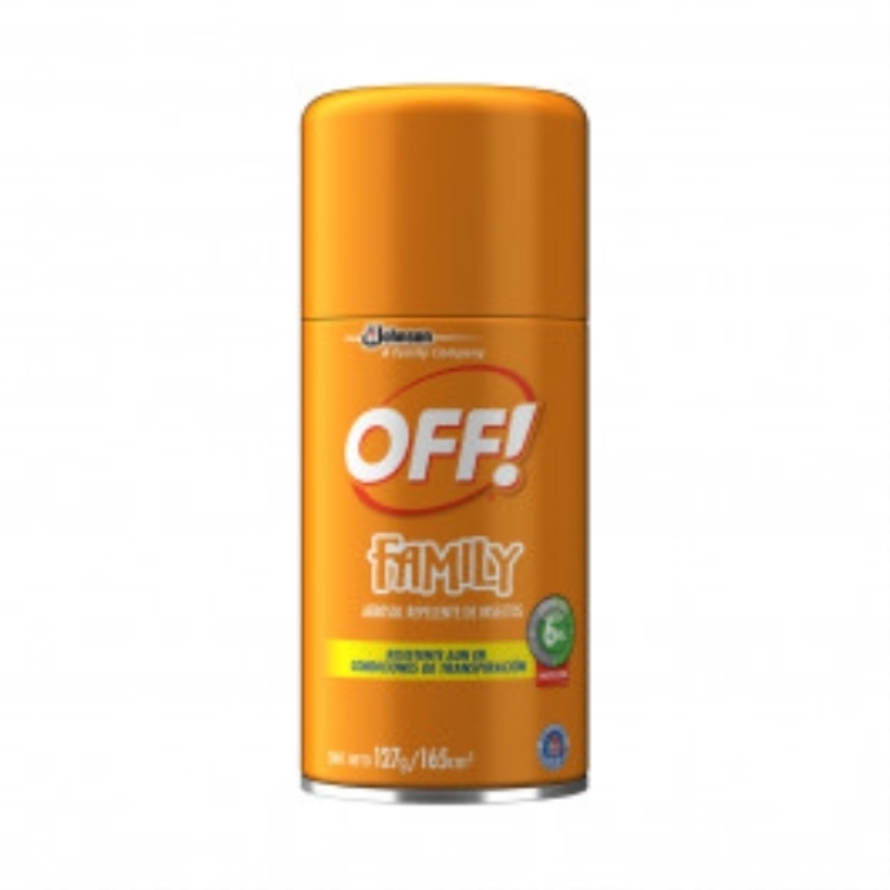 OFF AEROSOL REPELENTE FAMILY ACTIVE X 165 CM3