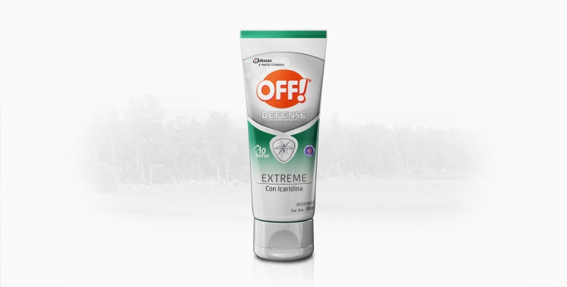 OFF OFF GEL DEFENSE EXTREME X100