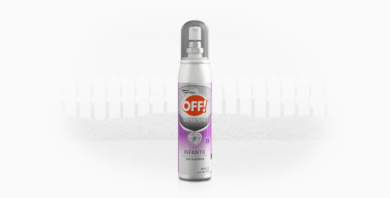 OFF OFF DEFENSE INFANTIL SPRAY X100