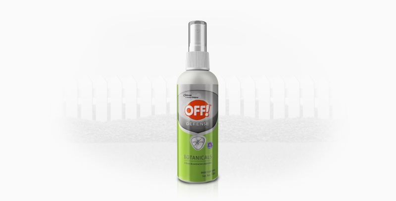 OFF OFF SPRAY DEFENSE BOTANICALS X118
