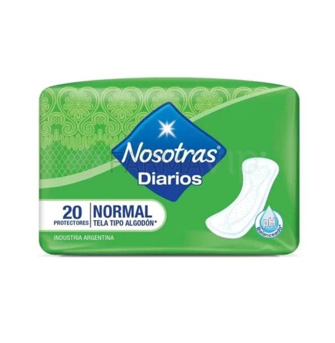 NOSOTRAS PROTECTORES DIARIOS NORMAL X20