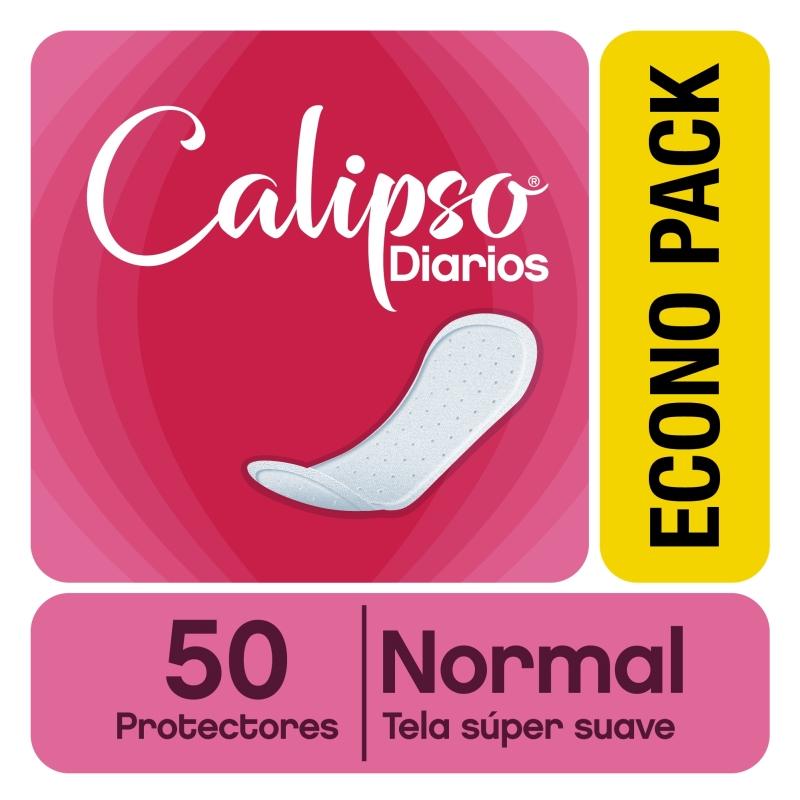 CALIPSO PROTECTORES  ANATOMICOS MANZANILLA X50
