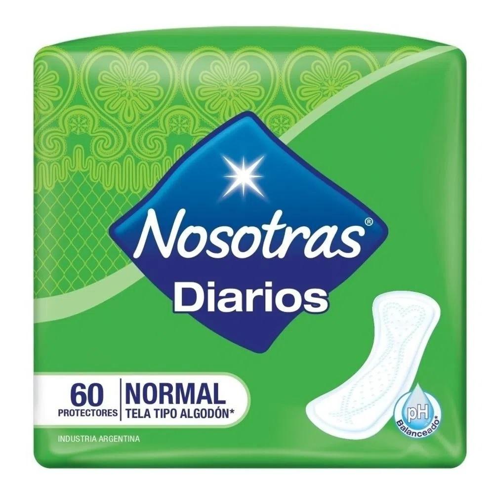 NOSOTRAS PROTECTORES NATURAL NORMAL X 60 U