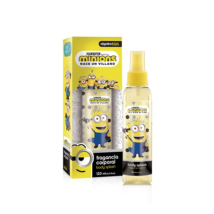 ALGABO MINIONS BODY SPLASH X 125 ML