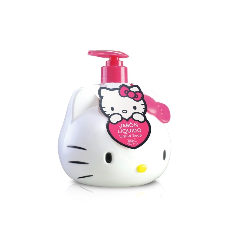 ALGABO HELLO KITTY JABÓN LIQUIDO X 500 ML