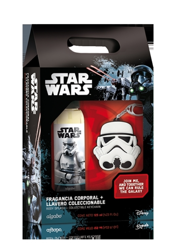 ALGABO STAR WARS SET BODY SPLASH 125 ML + LLAVERO