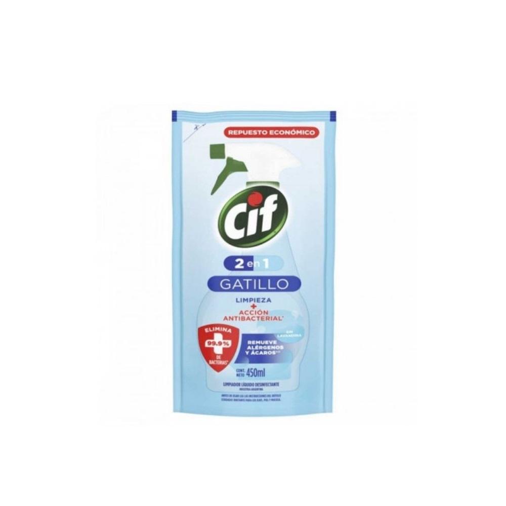 CIF BAÑO ANTIB 2EN1 DOY PACK X450