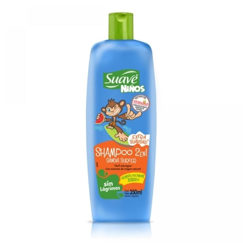 SUAVE SHAMPOO SANDIA SURFER 2EN1 X 350 ml