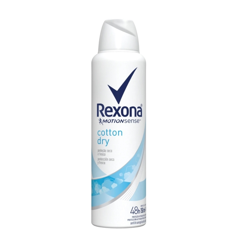 REXONA COTTON ANTITRANSPIRANTE EN AEROSOL X 105