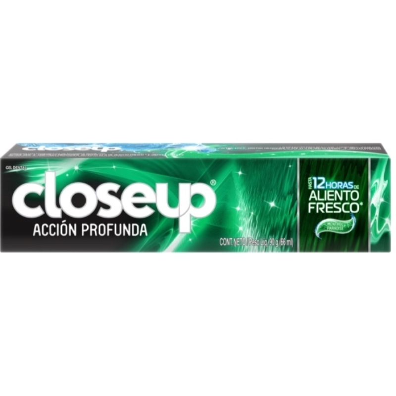 CLOSE UP MENTHOL PARADISE CREMA DENTAL X 90 gr