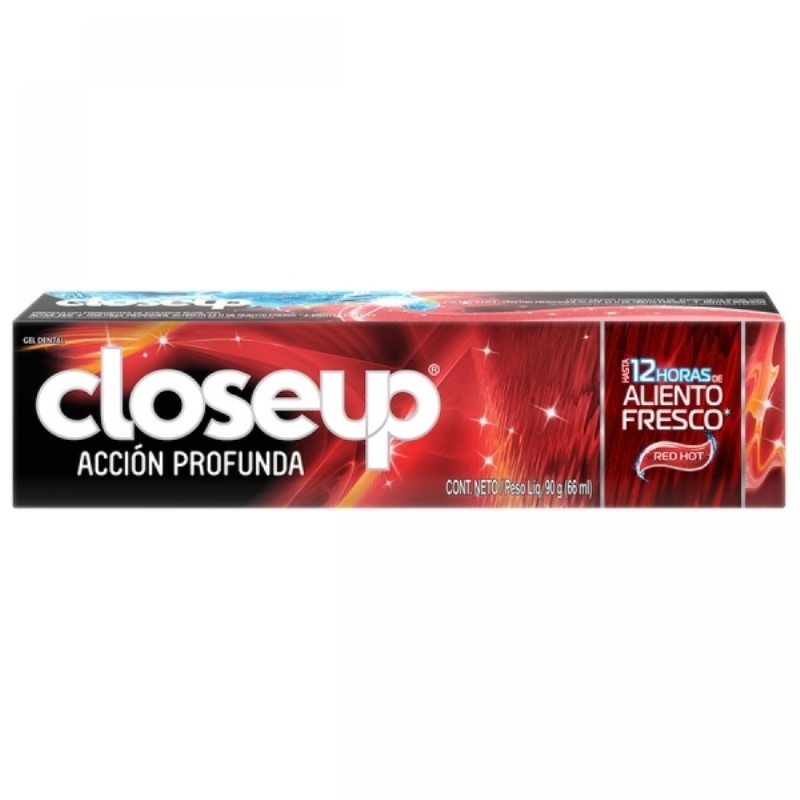 CLOSE UP RED HOT CREMA DENTAL X 90 gr