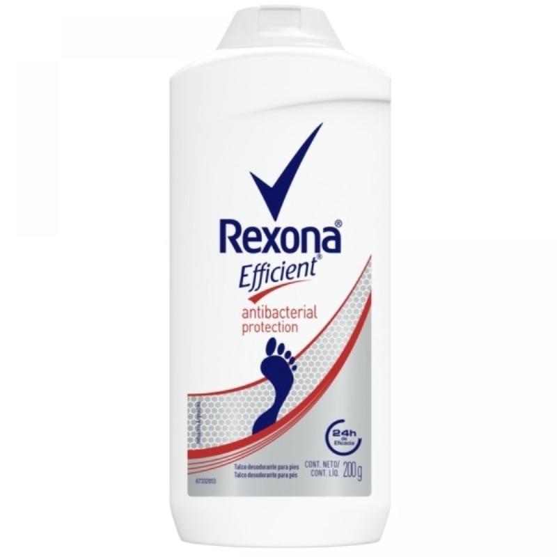 REXONA EFIFICIENT ANTIBACTERIAL EN POLVO X 200 gr