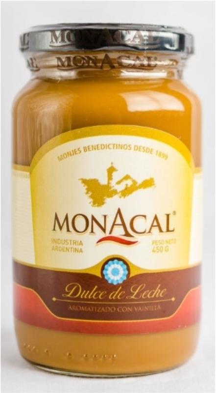 MONACAL DULCE DE LECHE X450grs