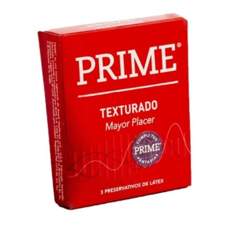 PRIME PRESERVATIVOS TEXTURADO X 3 un