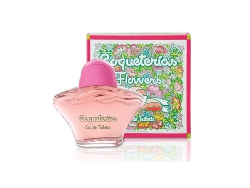 COQUETERIAS FLOWERS EAU DE TOILETTE X 80 ml