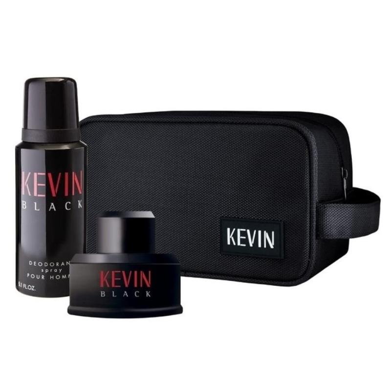 KEVIN BLACK NECESSAIRE (EAU DE TOILETTE X60+DEO)