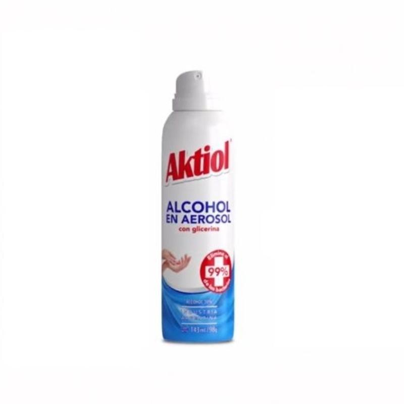 AKTIOL ALCOHOL EN AEROSOL  X143