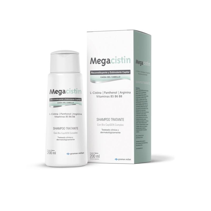 MEGACISTIN SHAMPOO  ANTICAIDA X 200 ML
