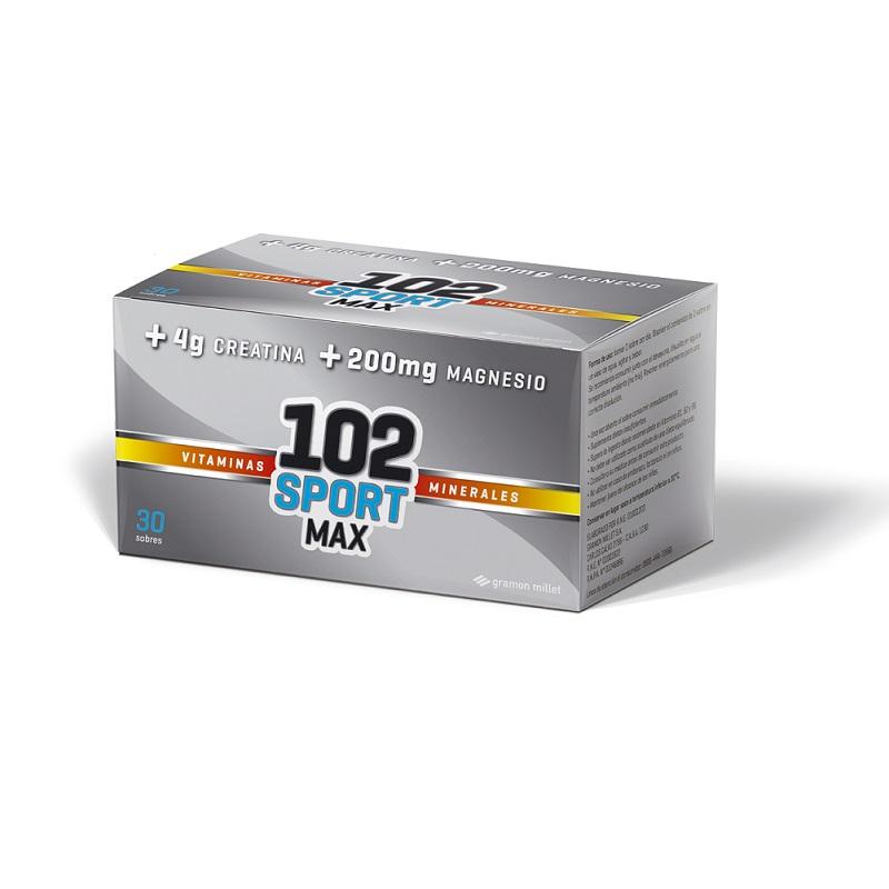 102 SPORT MAX X 30 SOBRES