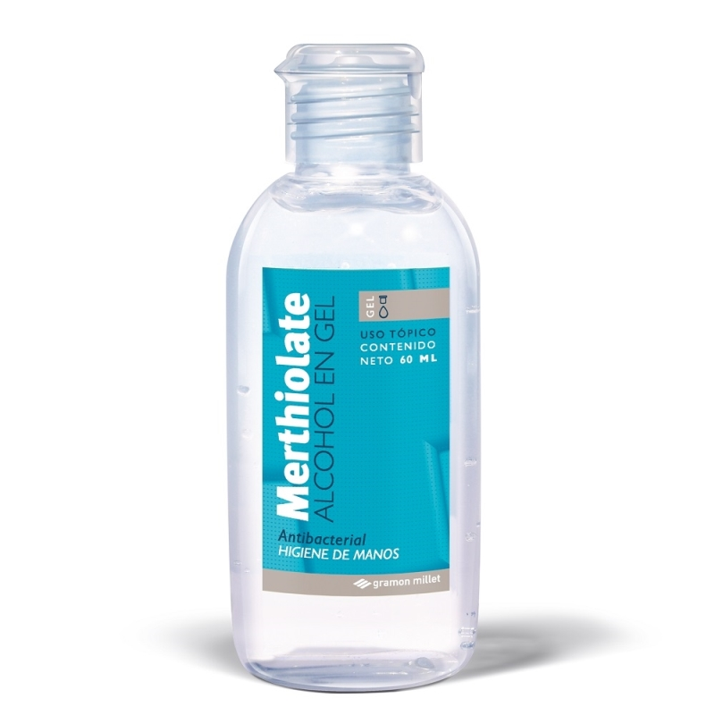 MERTHIOLATE  ALCOHOL EN GEL X60ML