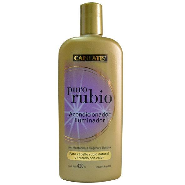 CAPILATIS  ACONDICIONADOR PURO RUBIO X 420 ML