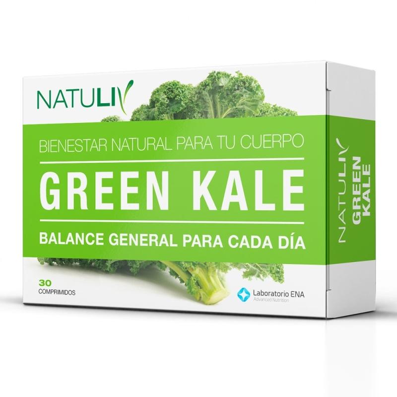 NATULIV GREEN KALE  ENV X   30