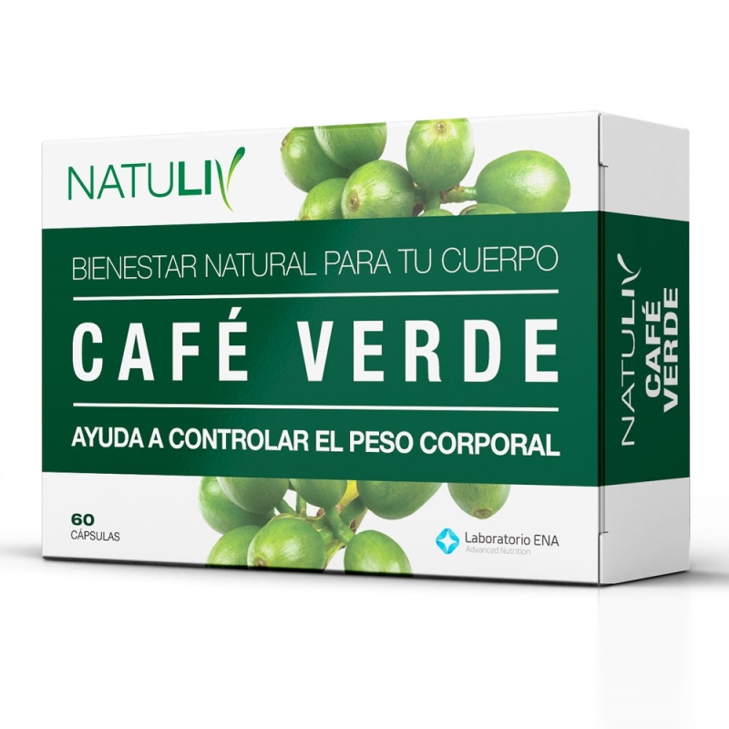 NATULIV CAFE VERDE  ENV X   60