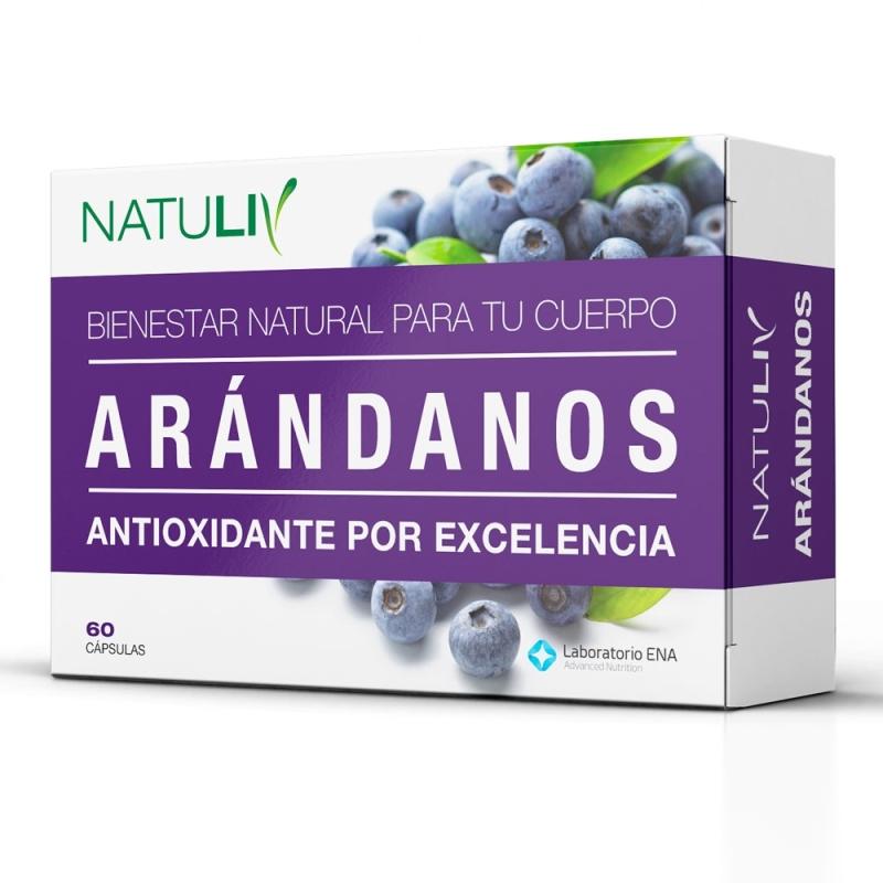 NATULIV ARANDANOS  ENV X   60 COMP
