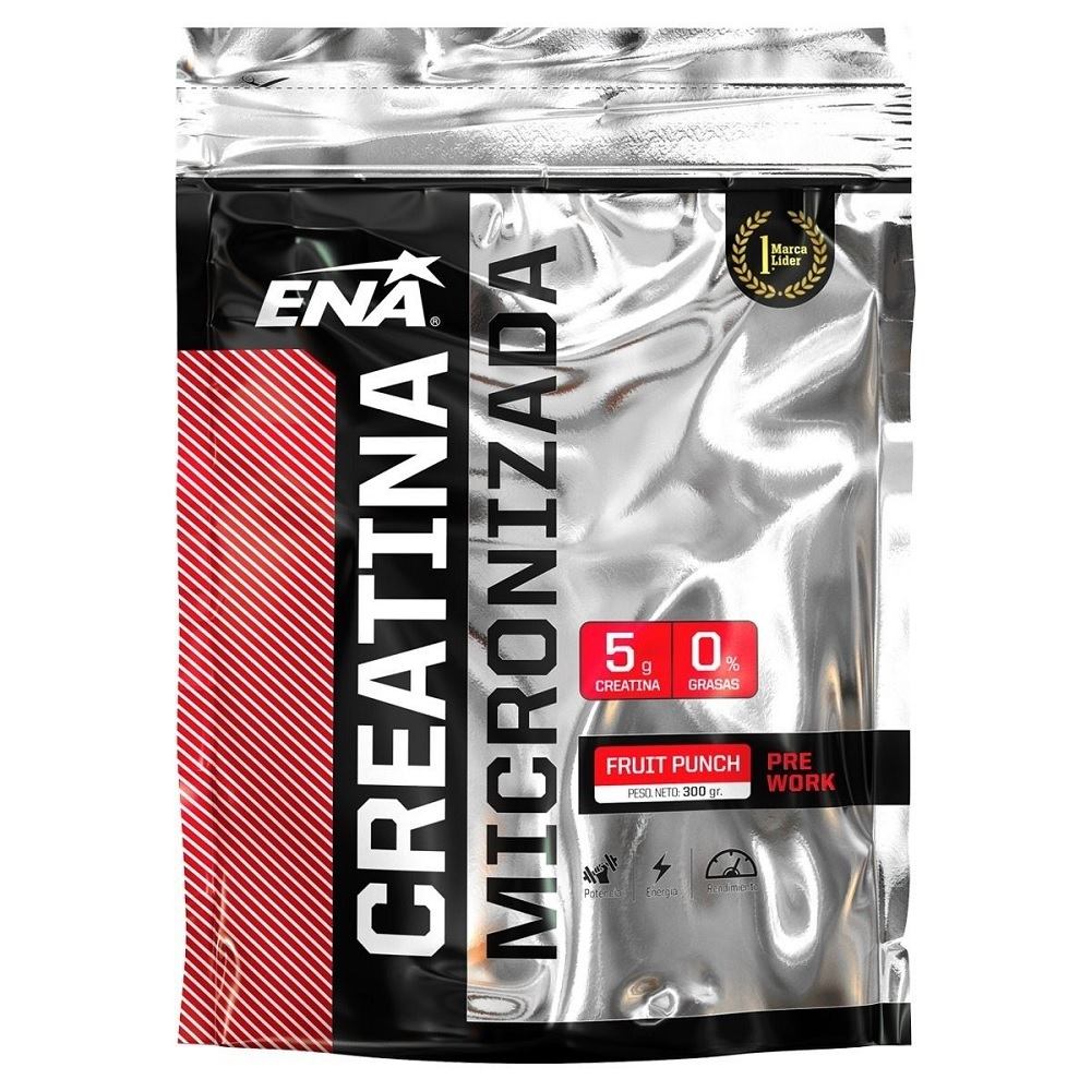 ENA CREATINA MICRONIZADA FRUIT PUNCH X 300 gr