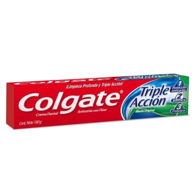 COLGATE CREMA TRIPLE ACCION X 180 gr