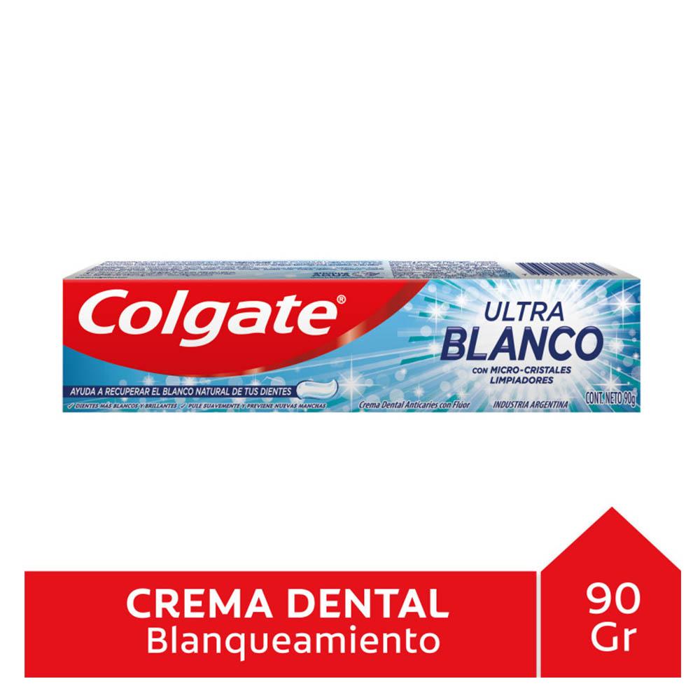COLGATE CREMA ULTRA BLANCO X 90 GR