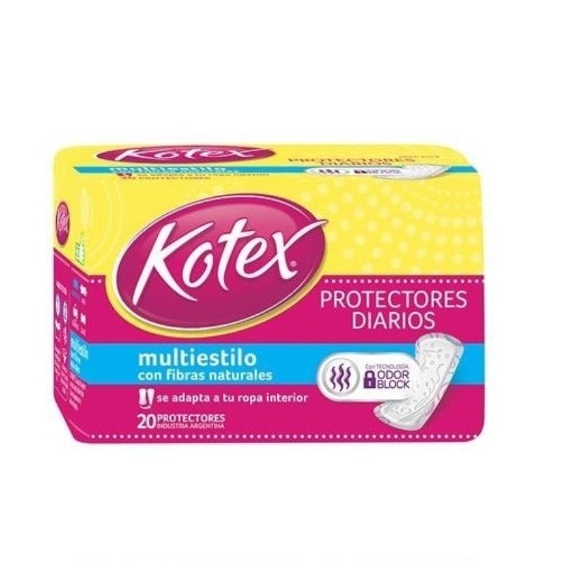 KOTEX PROT MULTIFORMA S/PERFX20