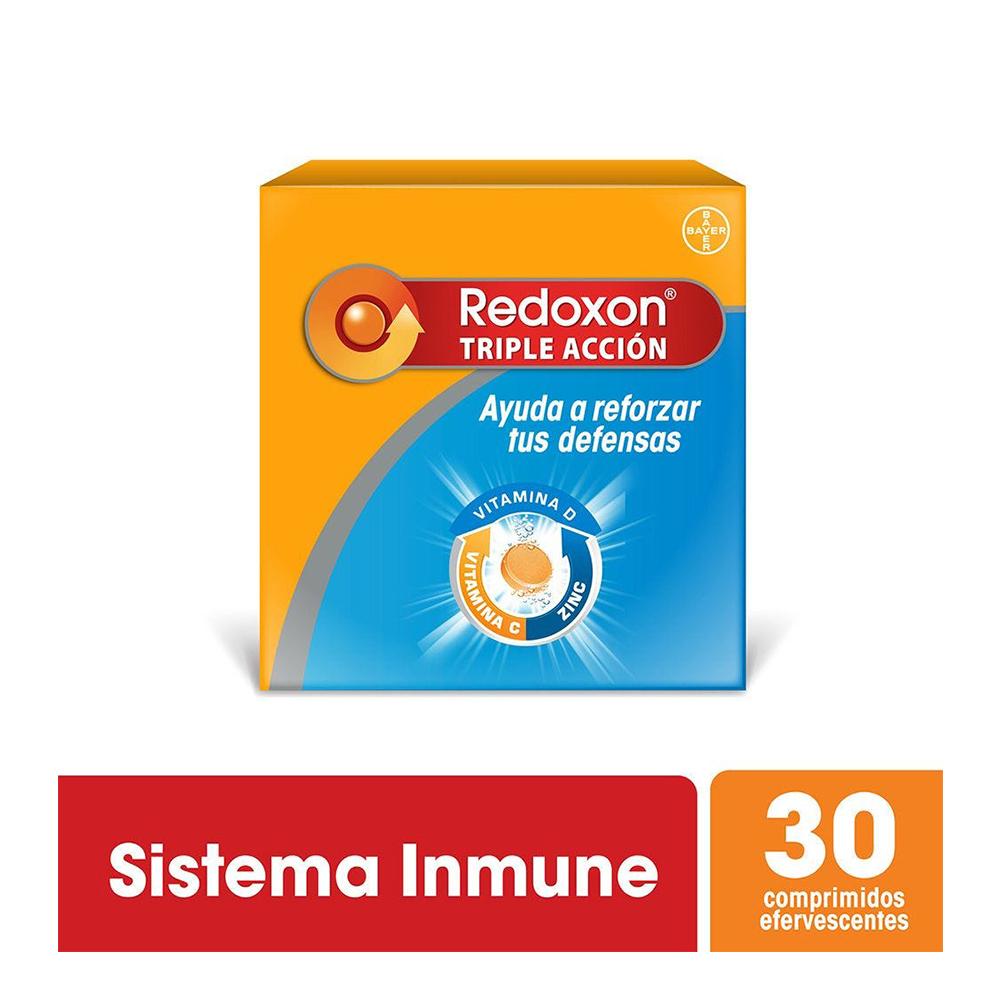 REDOXON TRIPLE ACCION EFERVECENTE X 1G X 30 UN