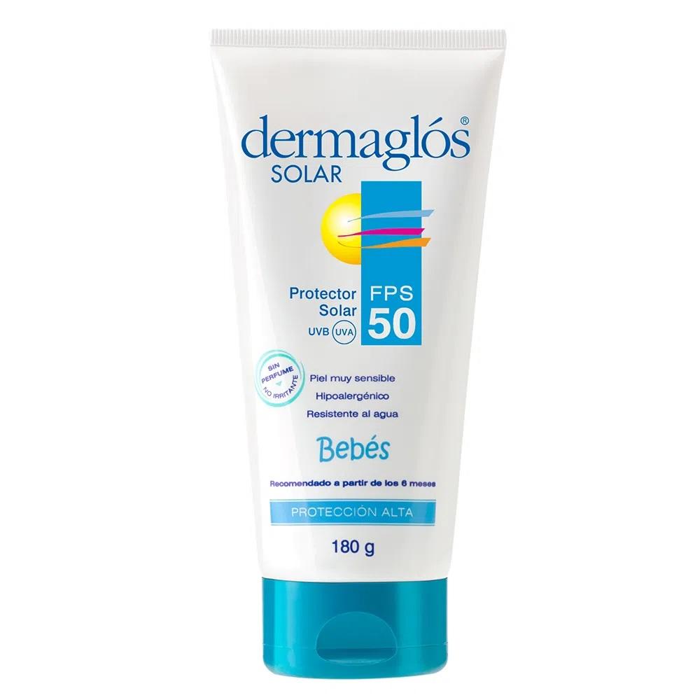 DERMAGLOS SOLAR FPS 50 BEBE X180