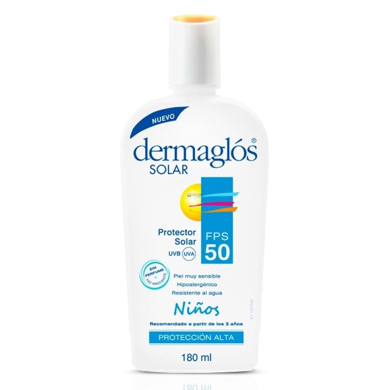 DERMAGLOS FPS 50 PARA NIÑOS X 180 ml