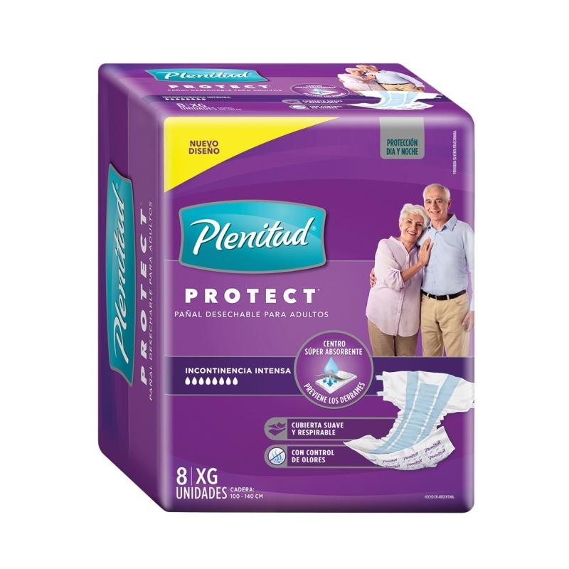 PLENITUD PROTECT PAÑAL T(XG)X 8