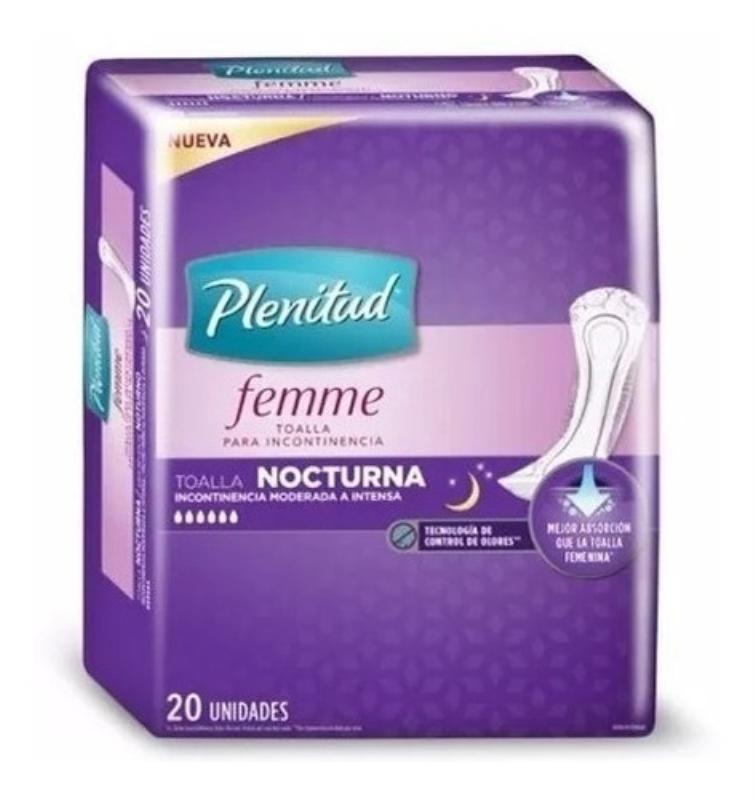PLENITUD FEMME NOCTURNAS TOA X20
