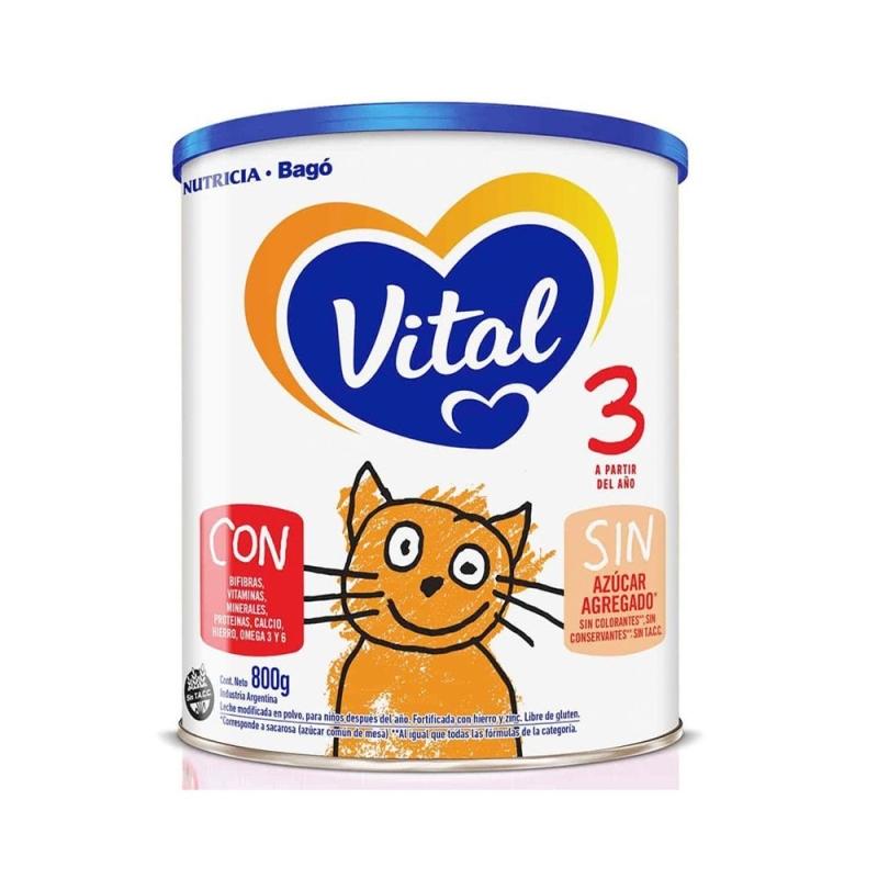 VITAL 3 NUTRI-PLUS X 800 GR
