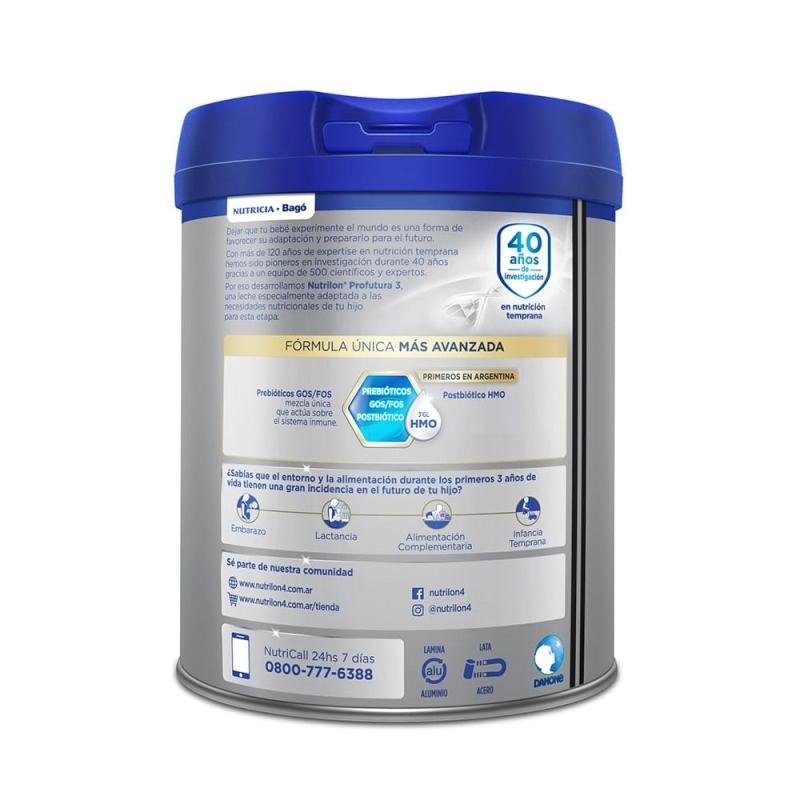 NUTRILON PROFUTURA 3 TARRO X 800 gr