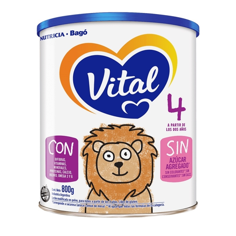 VITAL 4 NUTRI-PLUS X 800 GR