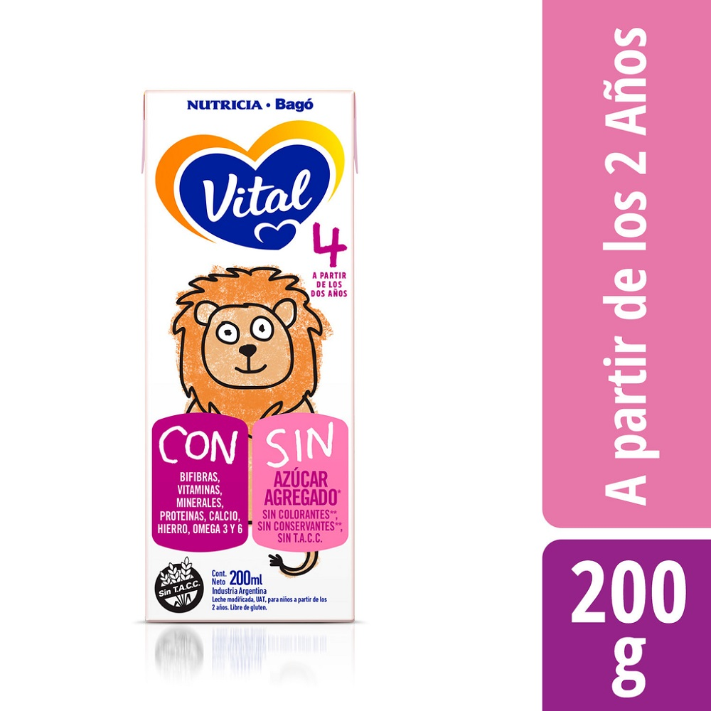 VITAL 4 NUTRI-PLUS X 200 ml