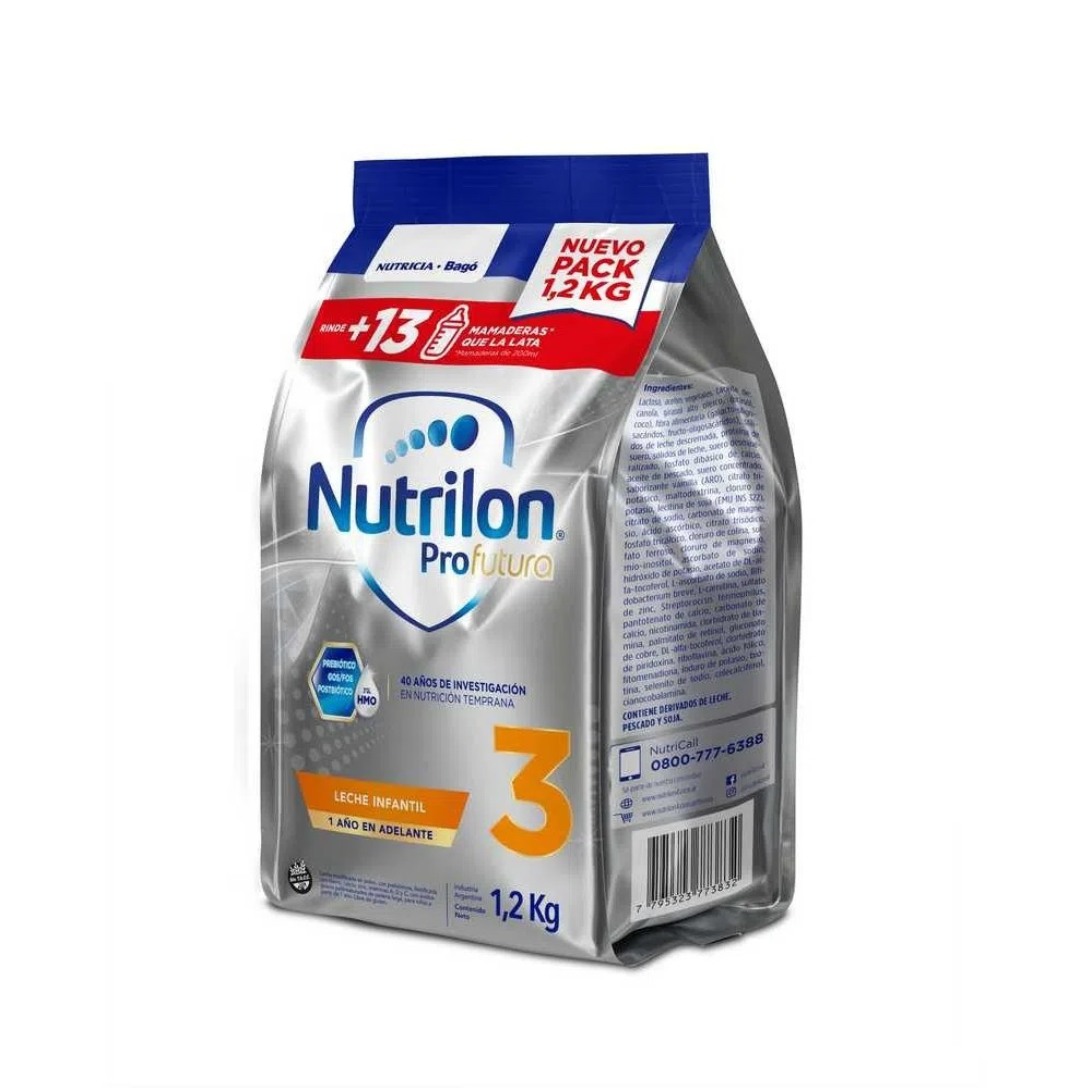 NUTRILON 3 POUCH X 1.200 Kg