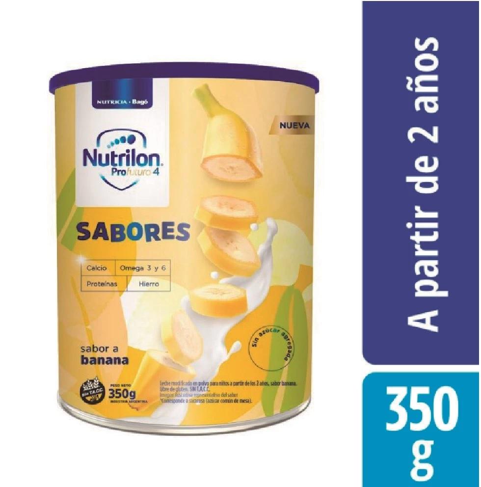 NUTRILON SABORES BANANA LATA X 350 GR