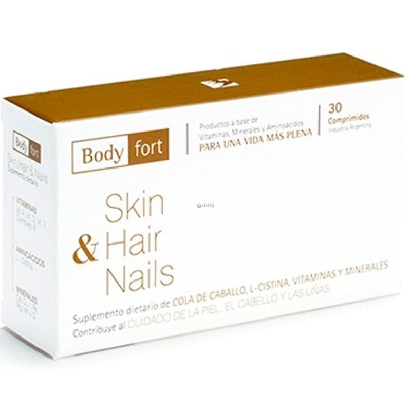 NATUFARMA BODY FORT SKIN HAIR & NAILS COM X   30