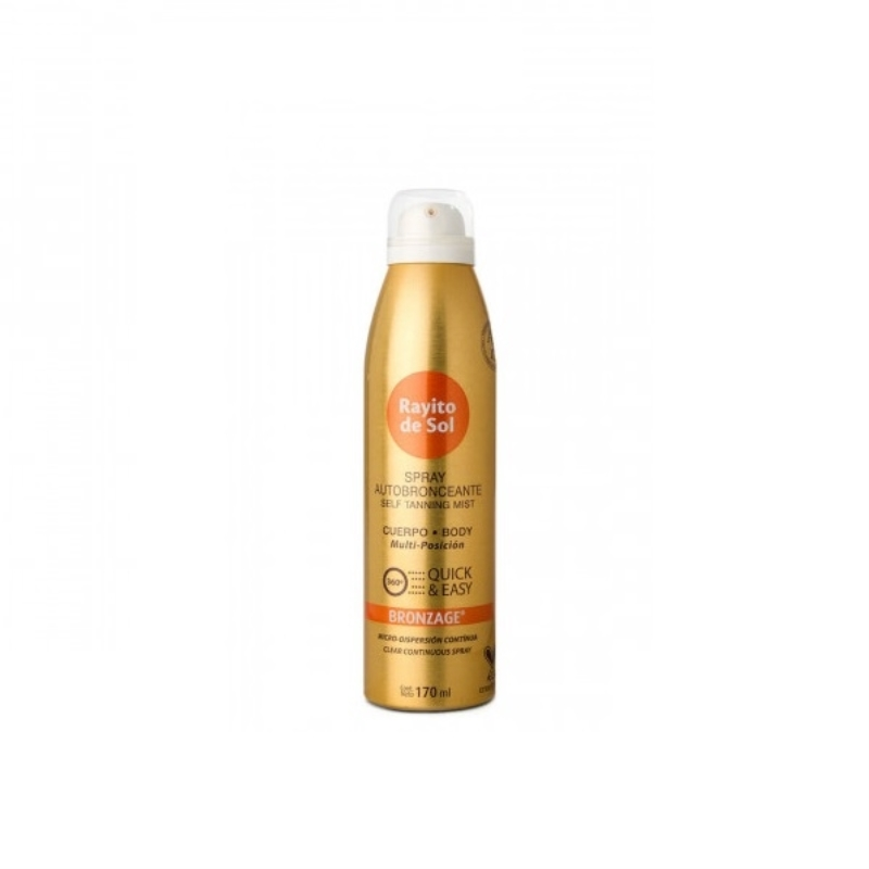 RAYITO DE SOL SPRAY BRONZAGE X 170 ml