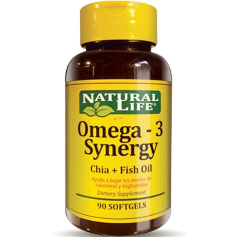 NATURAL LIFE OMEGA 3 SYNERGY X90