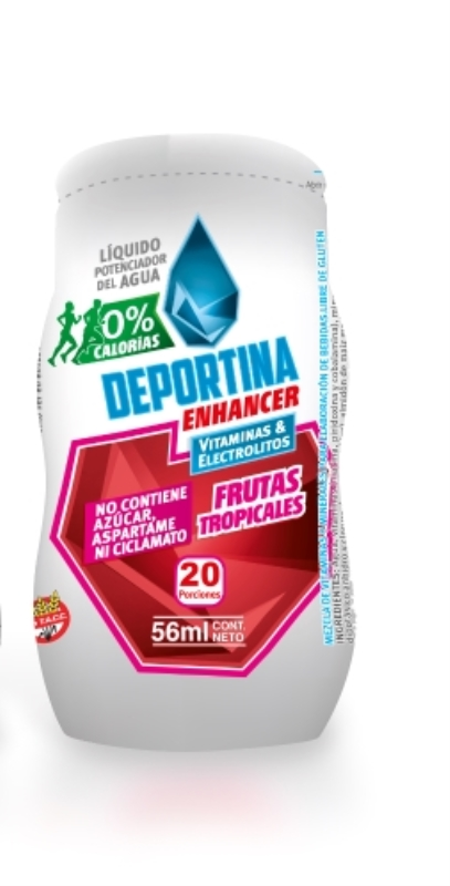 FRAMINGHAM DEPORTINA ENHANCER FRUTOS TROP. 56 ML ENV X    1